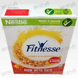Nestle Fitnesse Crispy Whole Wheat Flake Covered in Honey with Almond Slices 220g