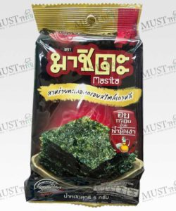 Spicy Flavour Seaweed Baked Crispy with sesame oil - Masita (5g)