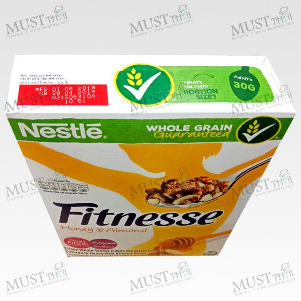 Nestlé Fitnesse Clusters Almond. Crunchy nut Nestlé Clusters with walnuts and pecans with just a touch of golden honey all makes for one tempting taste.
