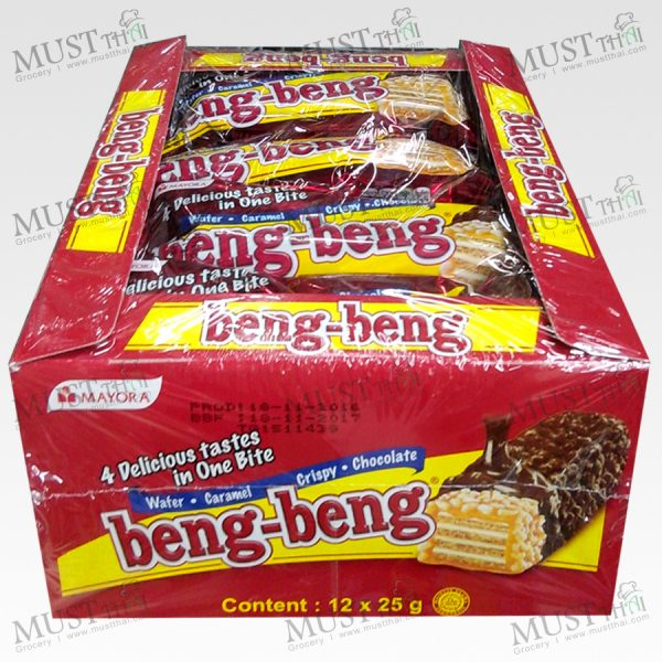 Beng-Beng Wafer Double Chocolate 25g Indonesian