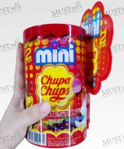 Mini Chupa Chups Lollipops Cola Strawberry flavour