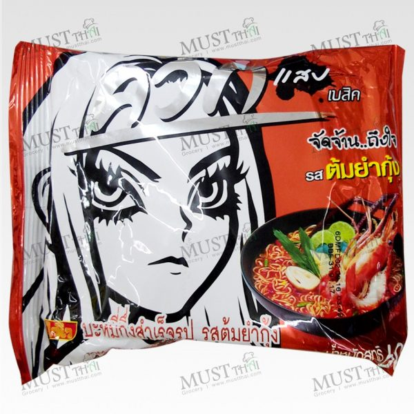 Tom yum Kung Flavour Instant Noodles - Wai Wai Quick (60g)