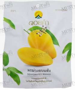 Doi Kham Dehydrated mango fruit snack