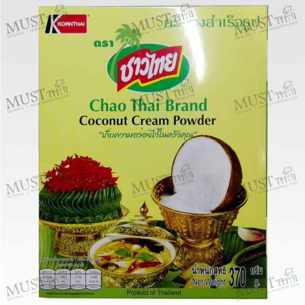 Coconut Cream Powder Chao Thai 370g