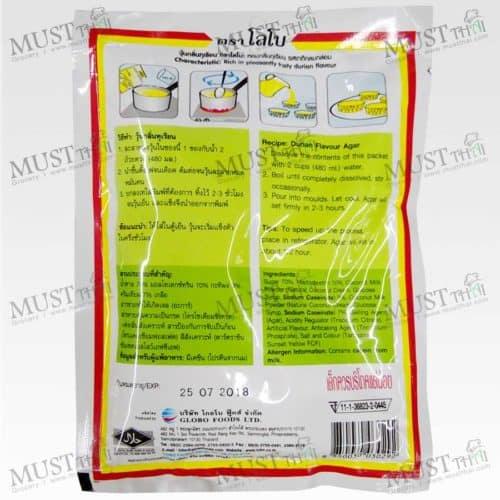 Lobo Durian Flavour Agar Dessert Mix Powder