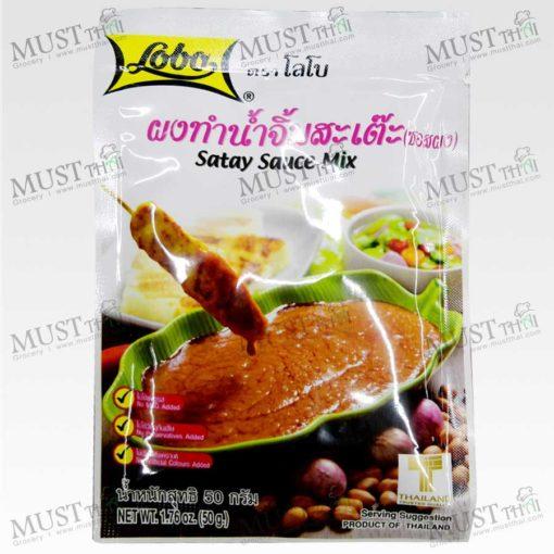 Lobo Satay Sauce Powder 50g
