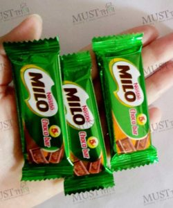 Choco Bar Chocolate Flavoured Confectionery – Milo 72g (Pack of 12)