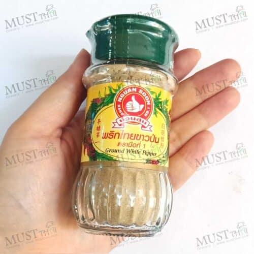 Nguan Soon Brand Ground White Pepper 60g