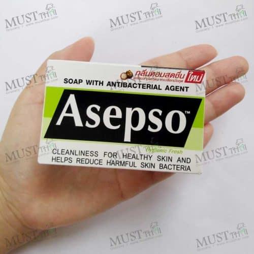 Asepso Hygienic Fresh Antibacterial Bar Soap 80g