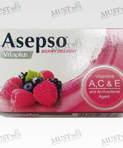 Asepso Vitaplus Berry Delight Antibacterial Soap 70g