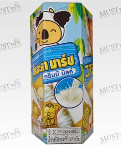 Lotte Koala's March Creamy Milk Flavoured Biscuits with Cream Filling 37g