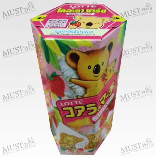 Lotte Koala's March Creamy Strawberry Biscuit 37g