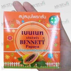 Bennett Papaya Soap 160g