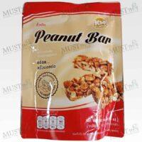 KMsnack Peanut Bar 140g