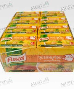 Knorr Cube Pork 1 box