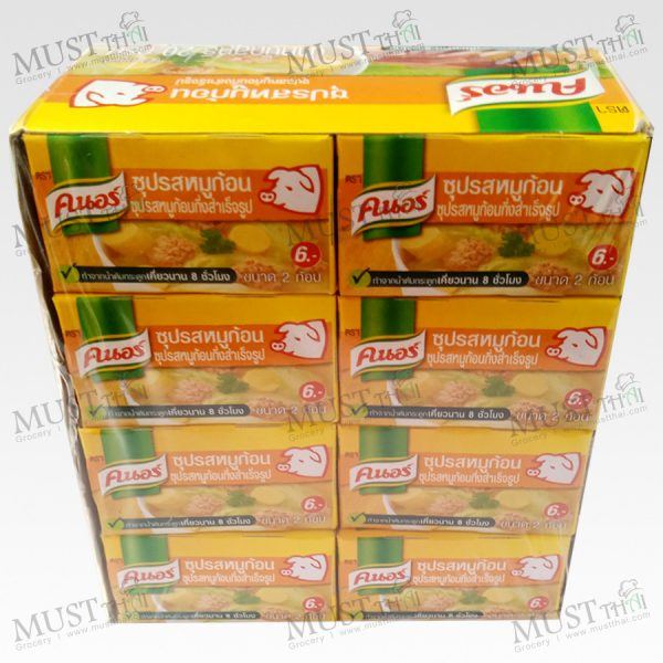 Knorr Cube Pork 1 box
