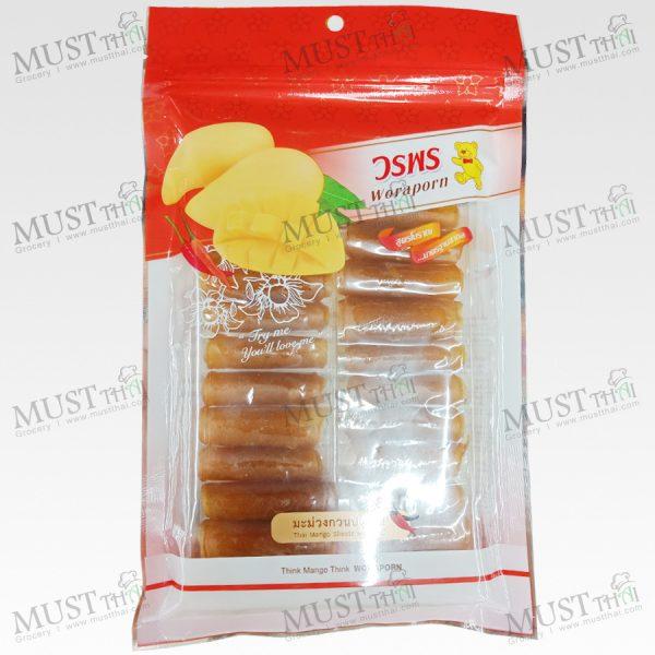 Worapond Mango Shredded with Chili 100g