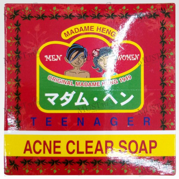Madam Heng Acne Clear Herbal Soap Original Formula