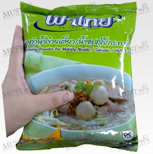 Fa Thai Seasoning Powder for Making Noodle Sukiyaki Hotpot Soup 850g