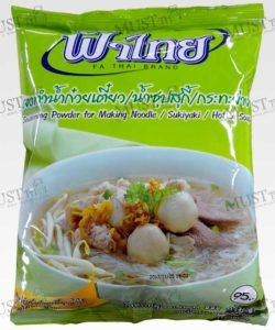 Fa Thai Seasoning Powder for Making Noodle Sukiyaki Hotpot Soup 850g