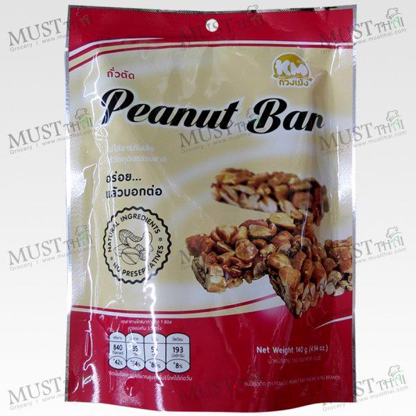 KMsnack Peanut Bar 140g Thai
