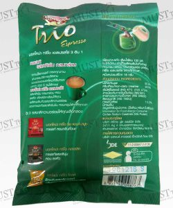 Moccona Trio Instant Coffee Mixed Espresso 18g Pack 5sachets