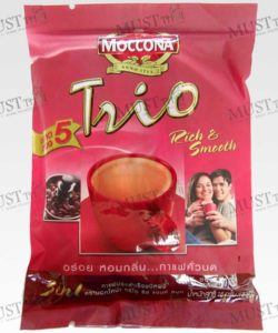 Moccona Trio Rich & Smooth Instant Coffee Mixed 18g Pack 5sachets