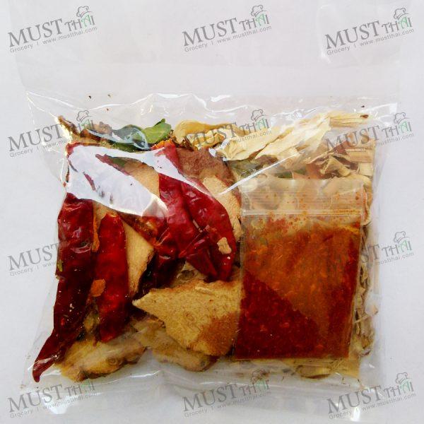 Spicy Soup Set / Dried Thai Herbs Tom Seab - 40g