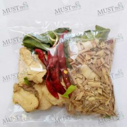 Spicy Soup Tom Yum Set Dried Thai Herbs 40g Thai 01