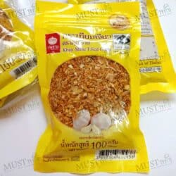 Fried Garlic Khun Shine 100g (pack of 6)