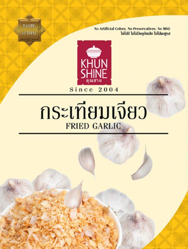 Fried Garlic Khun Shine 500g Thai