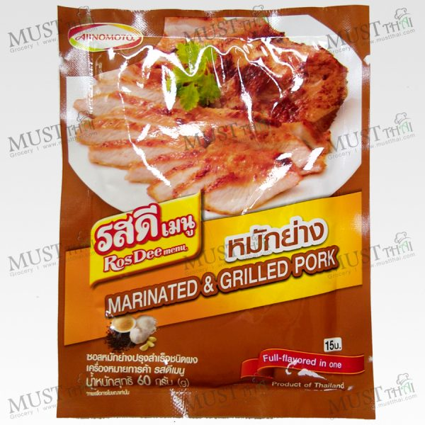 Ros Dee Menu Marinate & Grill Sauce Powder 60g Thai