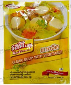 Ros Dee Menu Clear Soup Powder (Kaeng Jued) 60g Thai