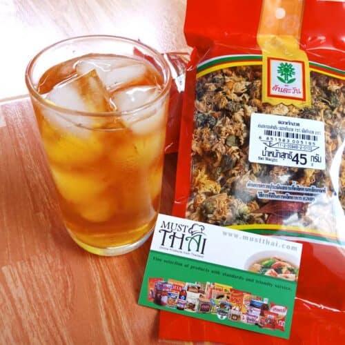 Chrysanthemum Chinese medicine tea