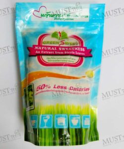 Green Sweet is a low-calorie sugar with the same sweetness