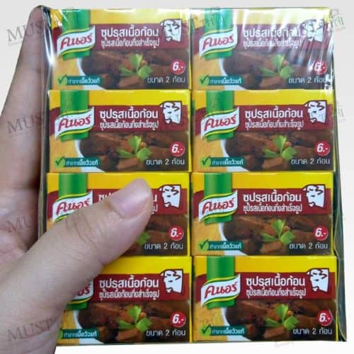 Cube Beef 1 box - Knorr (20gx24)