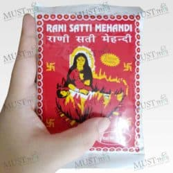 Rani Satti Mehandi Natural hair color and treatment 100g