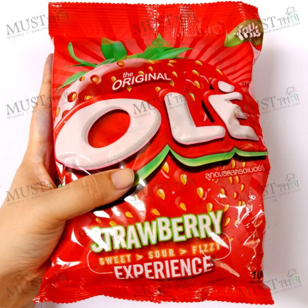 Ole Strawberry Flavor Hard Candy