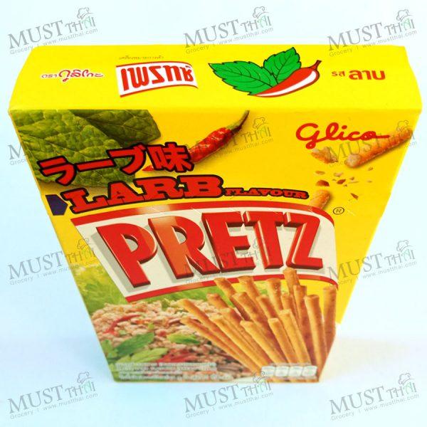 Pretz Bread Stick Larb Flavour by Glico 38g