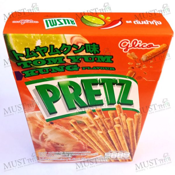 Pretz bread stick Tasty Tom Yum Kung