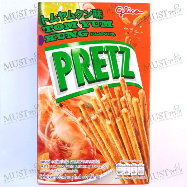 Pretz Bread Stick Tom Yam Kung Flavour by Glico