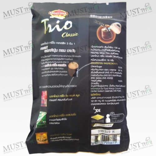 Instant Coffee Mixed Classic - Moccona Trio 90g (18g x 5 Sachets)