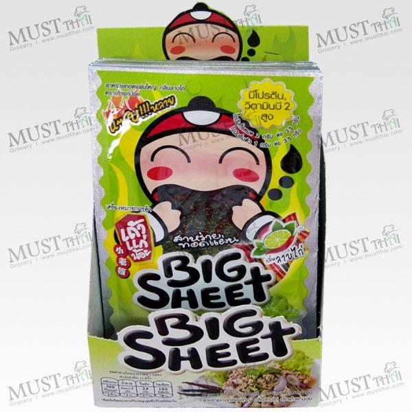 Taokaenoi Big Sheet Seaweed Larb Flavor Thai