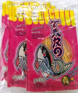 Fish Snack Barbeque Kimchi Flavor – Taro Pack (7.5g x 12)