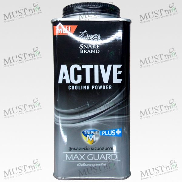 Snake Active Cooling Powder Max Guard Powder - (140g)