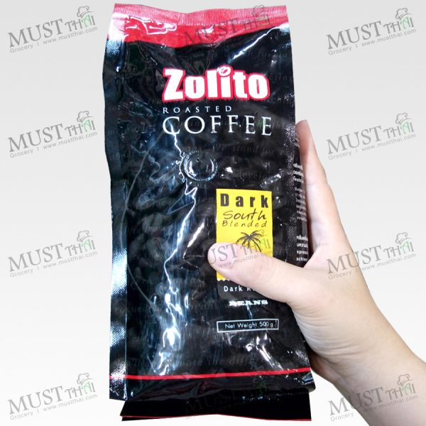 Dark South Blended Coffee Beans – Zolito (500g)