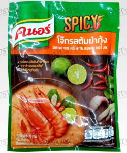 Knorr Instant Jasmine Rice Porridge Tom Yum Shrimp Flavour