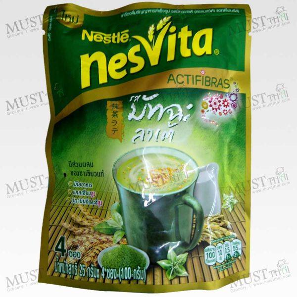 Nesvita Actifibras Cereal Matcha flavored milk beverage