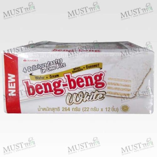 Wafer Cream White Chocolate Coconut- Beng-Beng (22g x12)