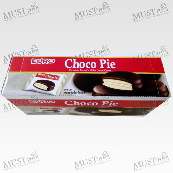 Euro Choco Pie with White Cream Center